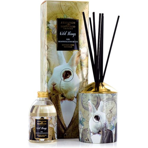 Ashleigh & Burwood Reed Diffuser Gift Set Wild Things Collection: Sir Hoppingsworth