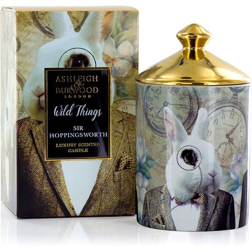 Ashleigh & Burwood Scented Candle Wild Things Collection: Sir Hoppingsworth