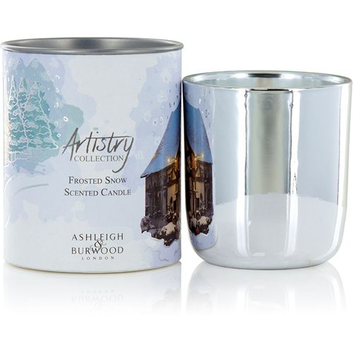 Ashleigh & Burwood Artistry Collection Scented Candle - Frosted Snow