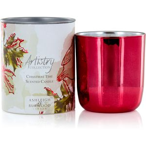 Ashleigh & Burwood Artistry Collection Scented Candle - Christmas Time