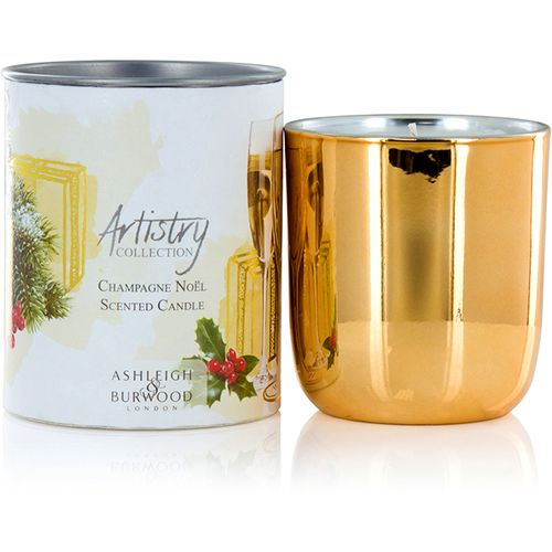 Ashleigh & Burwood Artistry Collection Scented Candle - Champagne Noel