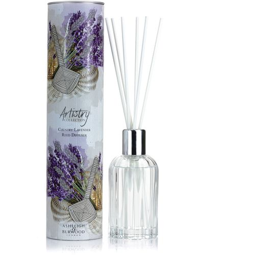 Ashleigh & Burwood Artistry Collection Reed Diffuser - Country Lavender