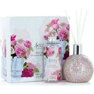 Ashleigh & Burwood Artistry Collection Reed Diffuser Gift Set - Peony Blush