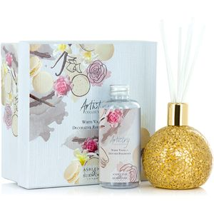 Ashleigh & Burwood Artistry Collection Reed Diffuser Gift Set - White Vanilla