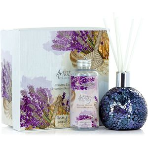Ashleigh & Burwood Artistry Collection Reed Diffuser Gift Set - Country Lavender