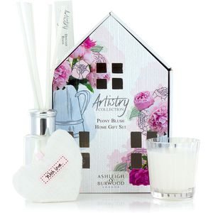 Ashleigh & Burwood Artistry Collection Home Fragrance Gift Set Peony Blush