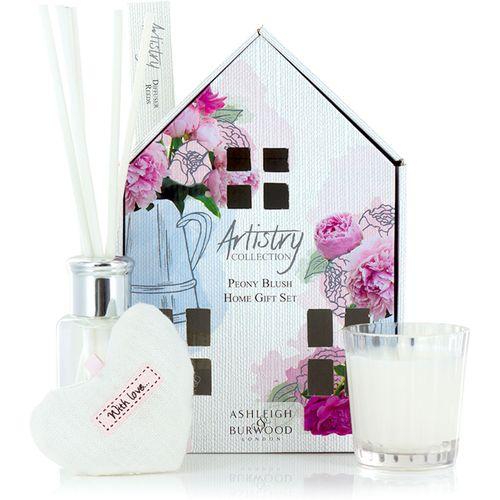 Ashleigh & Burwood Artistry Collection Home Fragrance Set Peony Blush