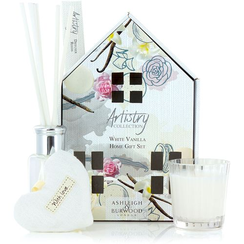 Ashleigh & Burwood Artistry Collection Home Fragrance Set White Vanilla