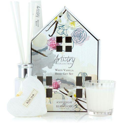 Ashleigh & Burwood Artistry Collection Home Fragrance Set White Vanilla