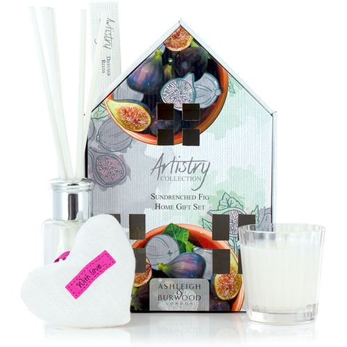 Ashleigh & Burwood Artistry Collection Home Fragrance Set - Sundrenched Fig