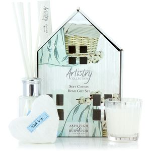 Ashleigh & Burwood Artistry Collection Home Fragrance Gift Set Soft Cotton