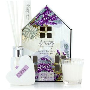 Ashleigh & Burwood Artistry Collection Home Fragrance Gift Set Country Lavender