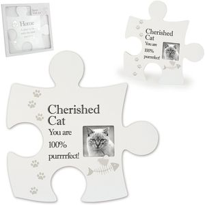Jigsaw Wall Art - Cherished Cat