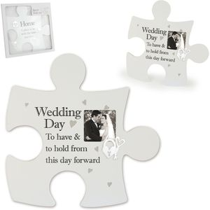 Jigsaw Wall Art - Wedding Day