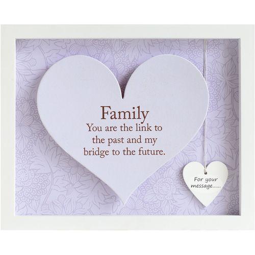 Heart Frame - Family