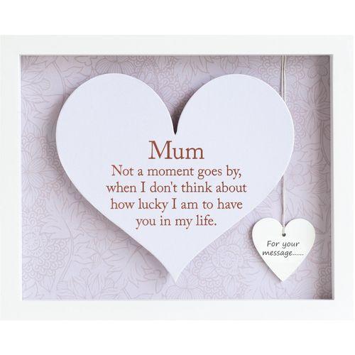 Heart Frame - Mum