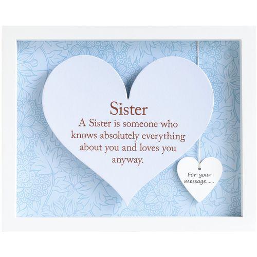 Heart Frame - Sister