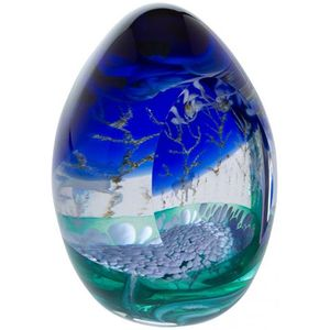 Caithness Crystal Woodland Seasons Winter Paperweight