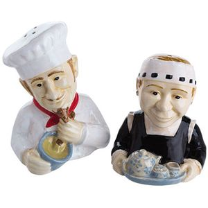 John Beswick Salt & Pepper Pots - The Servers