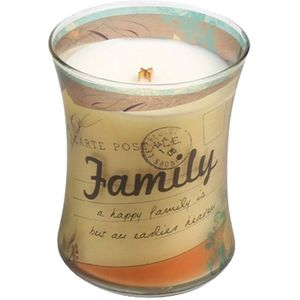 WoodWick Inspirational Candle - Family