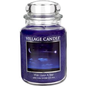 Village Candle Wish Upon a Star 26oz Candle Jar
