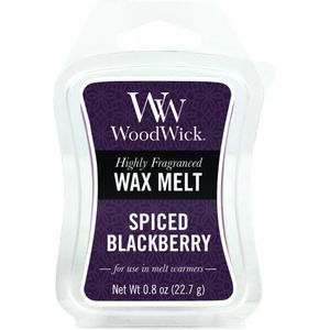 WoodWick Mini Wax Melt - Spiced Blackberry