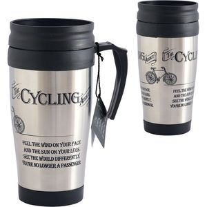 Ultimate Man Gift Travel Mug - The Cycling Addict
