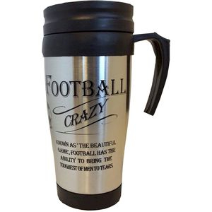 Ultimate Man Gift Travel Mug - Football Crazy
