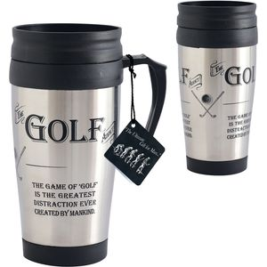 Ultimate Man Gift Travel Mug - The Golf Addict