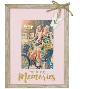 "Vintage Boutique Frame - Making Memories 4"" x 6"""