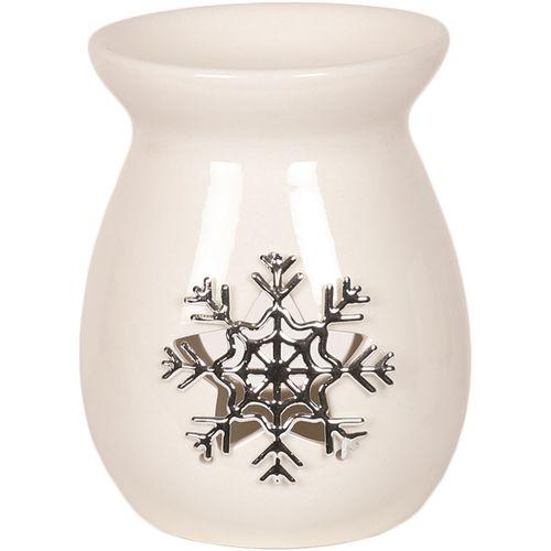 Aromatize Wax Melt Burner: Metallic Snowflake AR1004SF