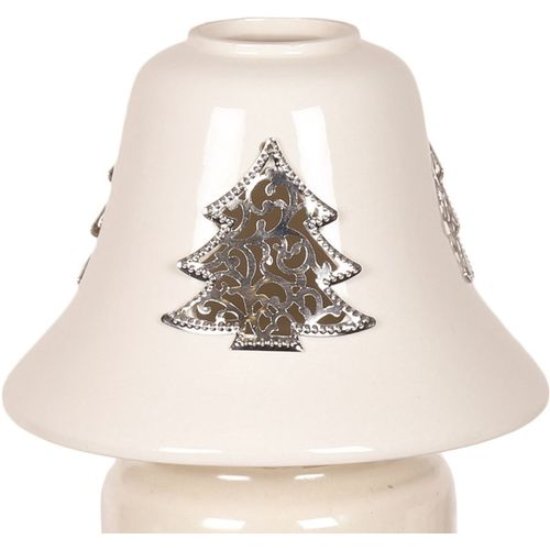 Aromatize Jar Candle Lamp Shade: Metallic Xmas Tree AR1005CT