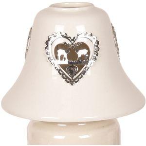 Aromatize Jar Candle Lamp Shade: Metallic Reindeers