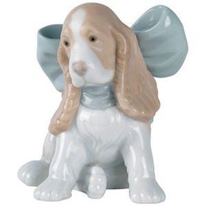 Nao Puppy Present Figurine
