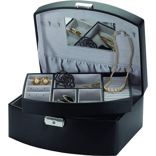 Mele & Co Bonded Leather Jewellery Case - Midnight Moods Baroness