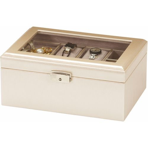 Mele & Co Leatherette Jewellery Box - Lustrous Allure Georgie