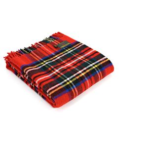 Tweedmill Traditional Tartan Throw - Royal Stewart