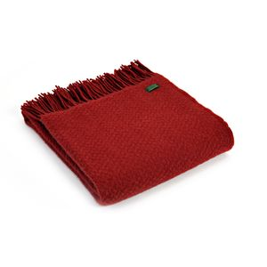 Tweedmill Pure New Wool Wafer (Red)