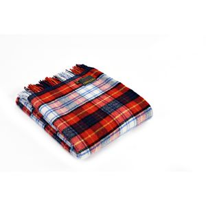 Tweedmill Traditional Tartan Throw - Red Dress Gordon