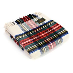 Tweedmill Traditional Tartan Throw - Dress Stewart