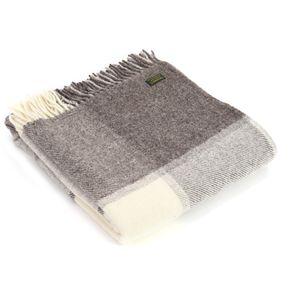 Pure New Wool Black Check (Jacob Grey)