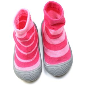 Blade & Rose Unicorn Collection Pink Stripe Sock Shoes