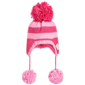 Blade & Rose Unicorn Pink Stripe Bobble Hat
