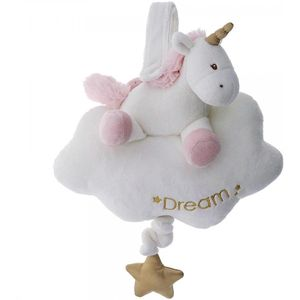 Gund Baby Luna Unicorn Pull String Musical Soft Toy