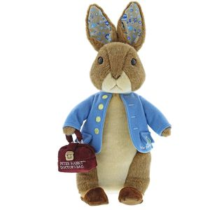 Gund Beatrix Potter Limited Edition Great Ormond Street Peter Rabbit & Drs Bag