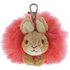 Beatrix Potter Flopsy Bunny Pom Pom Keyring
