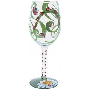 Lolita Ladybug Wine Glass