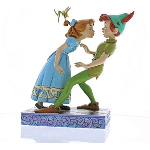 Disney Traditions An Unexpected Kiss (Peter Pan & Wendy) Figurine