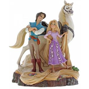 Disney Traditions Carved by Heart Figurine - Live Your Dream (Tangled)