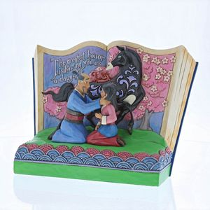 Disney Traditions Storybook Figurine - The Greatest Honor (Mulan)